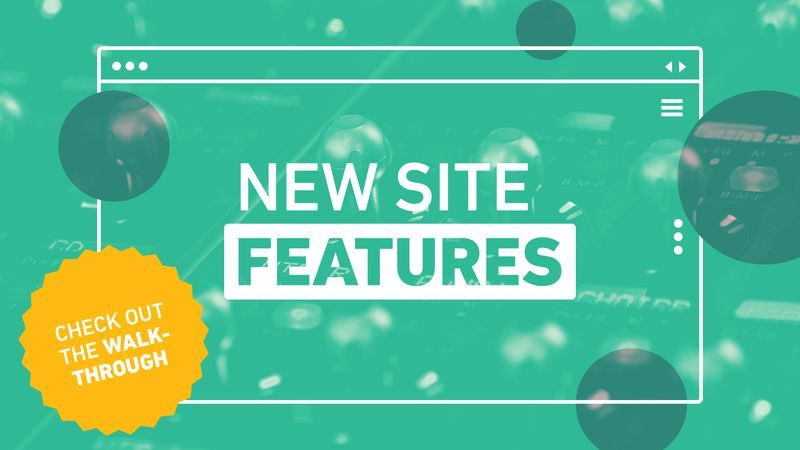 New Site Features