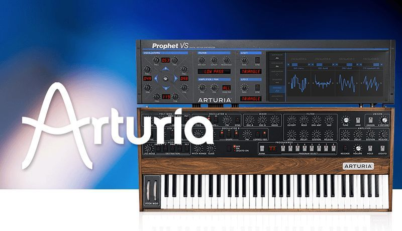 Arturia Prophet V with King Unique