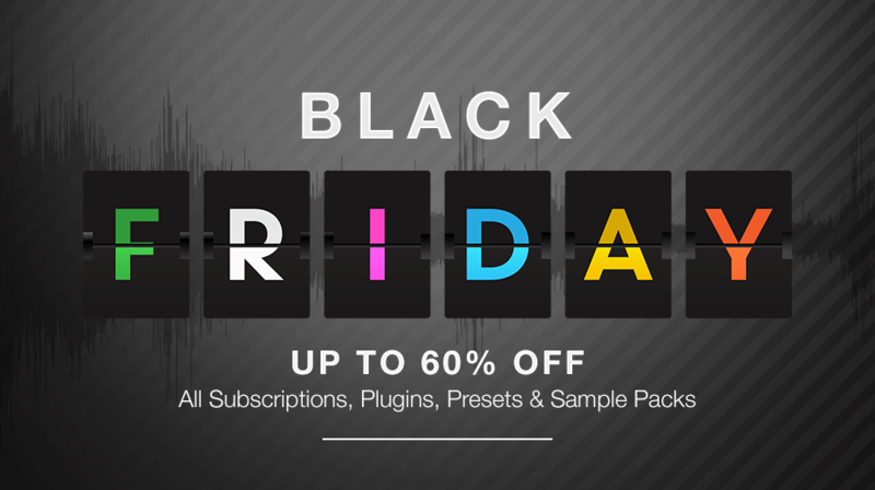 Black Friday 2018 up to 60% off