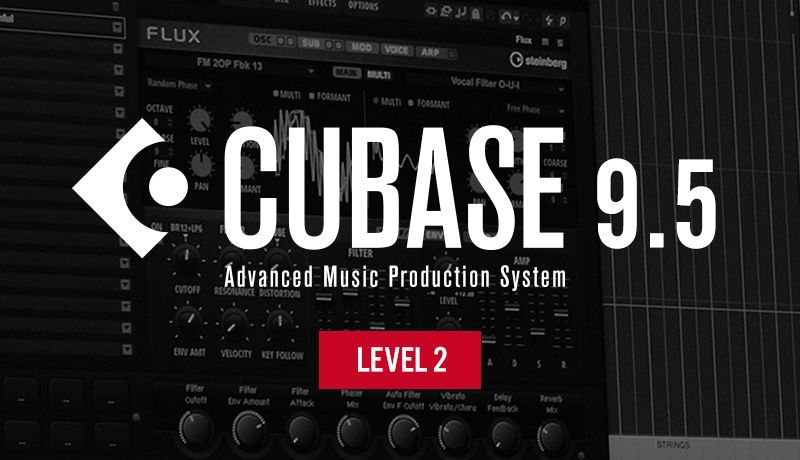 Cubase 9.5 Beginner Level 2