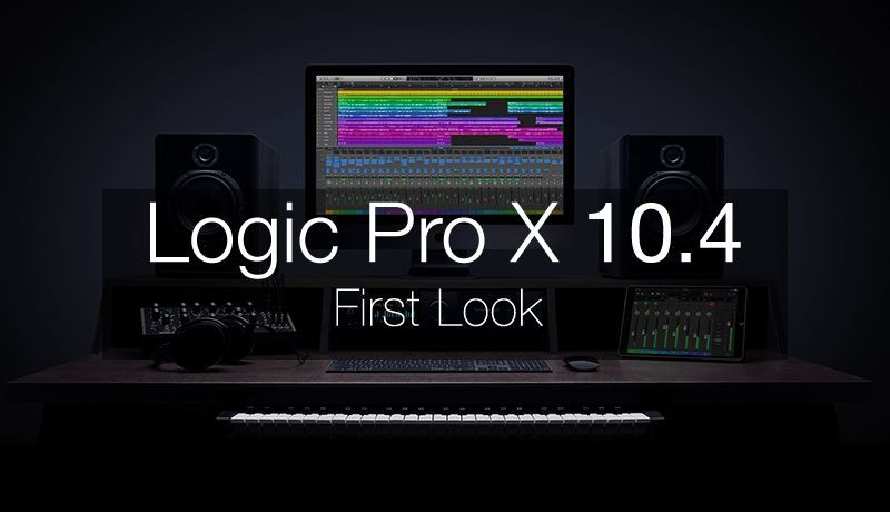 Logic Pro X 10.4 First Look with Chris Agnelli