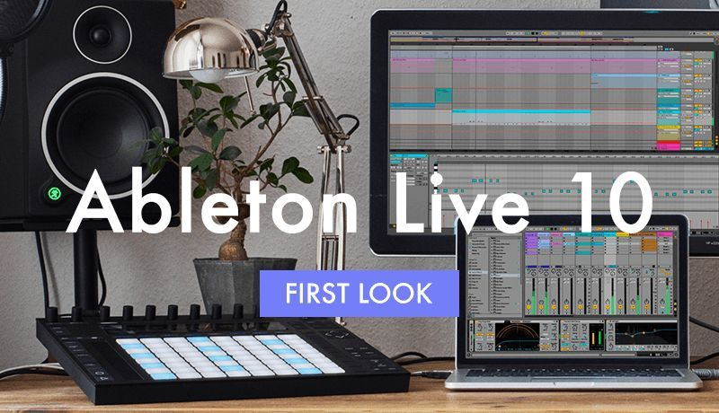 Ableton 10 First Look with Chymera