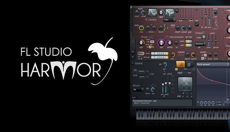 FL Studio Harmor with SeamlessR