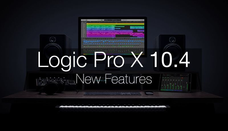 Logic Pro X 10.4 New Features