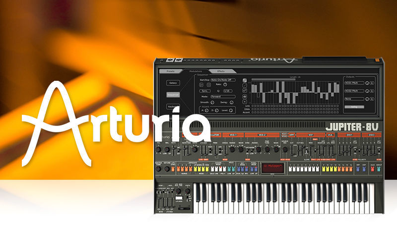 Arturia Jupiter 8V with King Unique