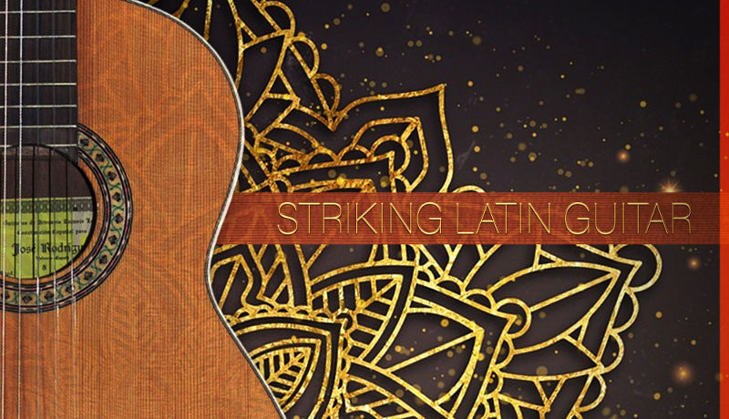 Striking Latin Guitar