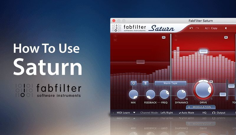 FabFilter Saturn with Rory Webb