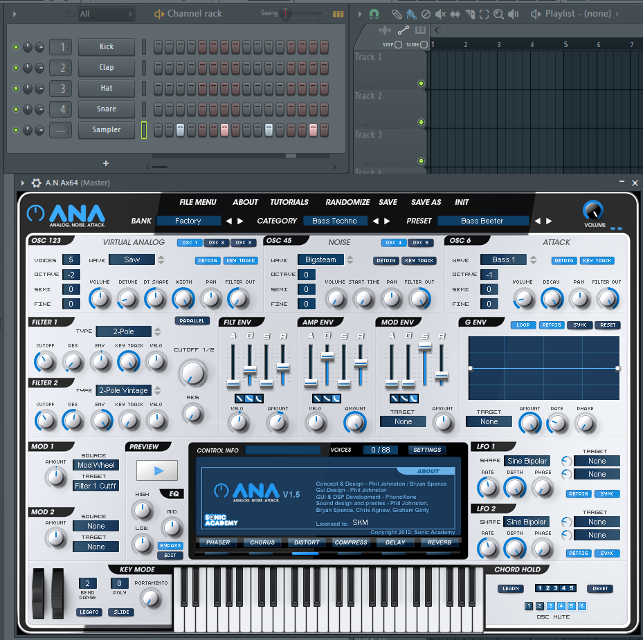 fl studio 12 plugin seems to 39 not connect with channel 39 ana synth sonic academy forums. Black Bedroom Furniture Sets. Home Design Ideas