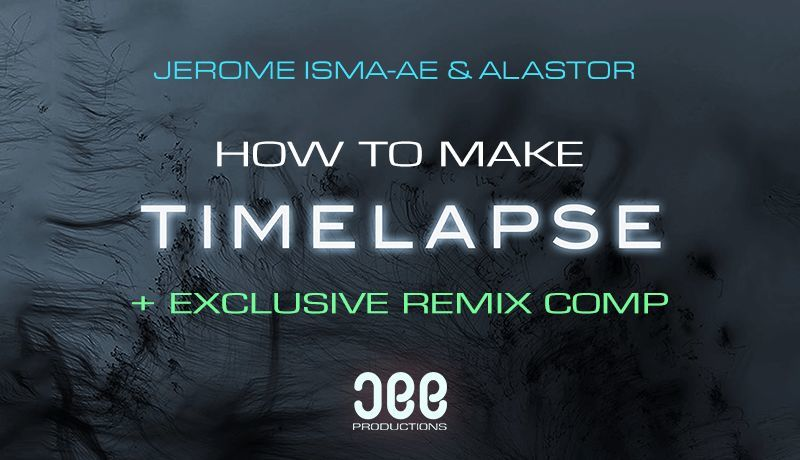 Timelapse with Jerome Isma-Ae