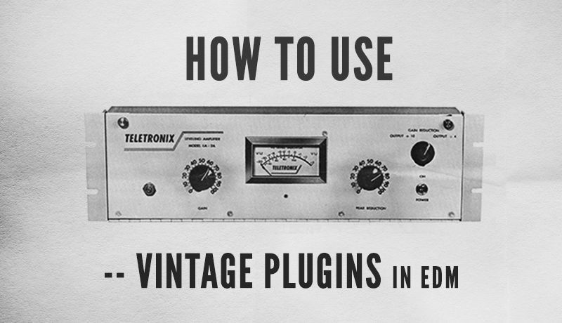 Vintage Plugins in EDM with Kirk Degiorgio