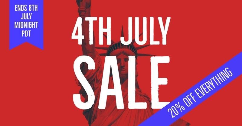 4th July Sale 2018