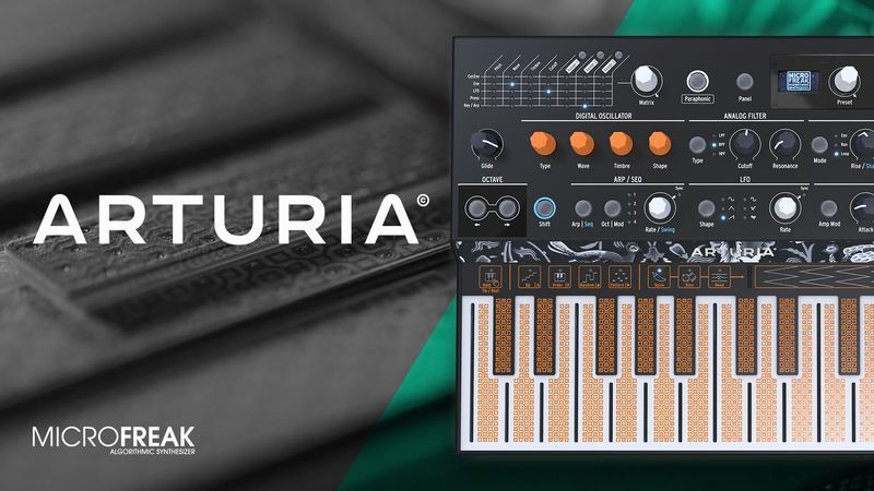 Arturia MicroFreak with King Unique