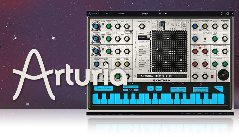 Arturia Synthi V with King Unique