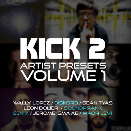 Kick 2 - Artist Preset Pack Vol 1