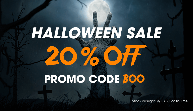 Halloween Sale Now On 20% OFF