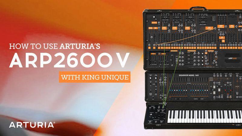 Arturia ARP2600V with King Unique