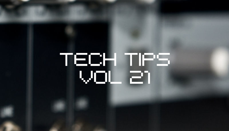 Tech Tips Volume 21 With SeamlessR