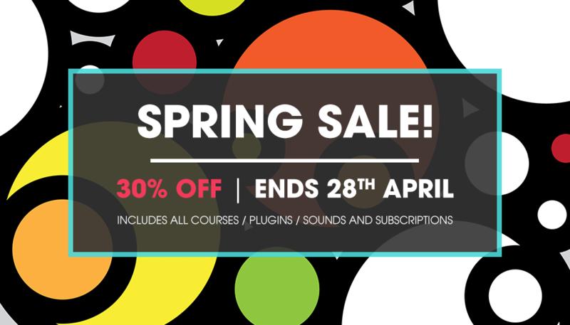 Spring Sale has landed!