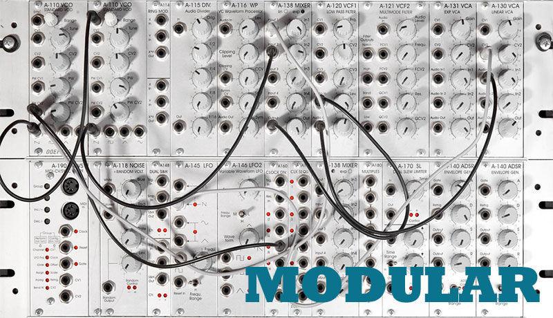 Modular Synthesis with Kirk Degiorgio