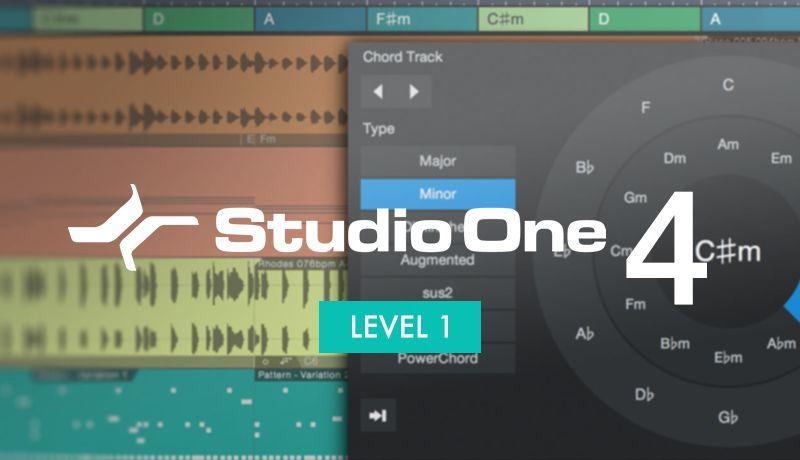 Studio One V4 Beginner Level 1