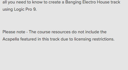 Banging Electro House Logic Pro Tutorial with Gigi Barocco