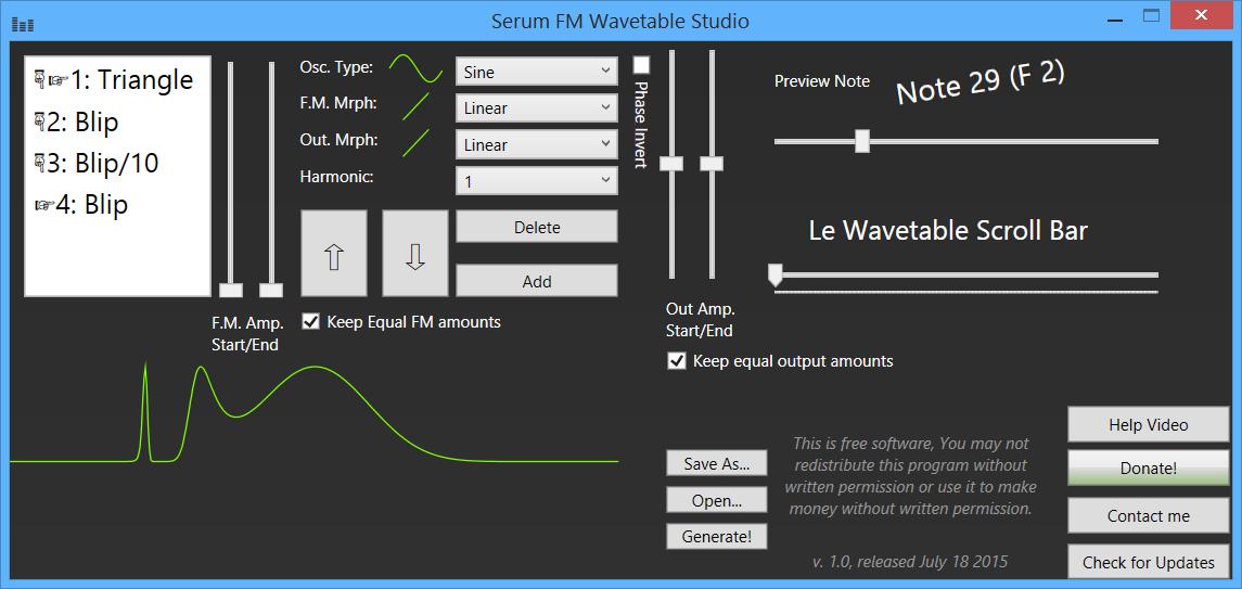 Creating Custom 3D Wavetables for ANA 2 - ANA 2 - Sonic