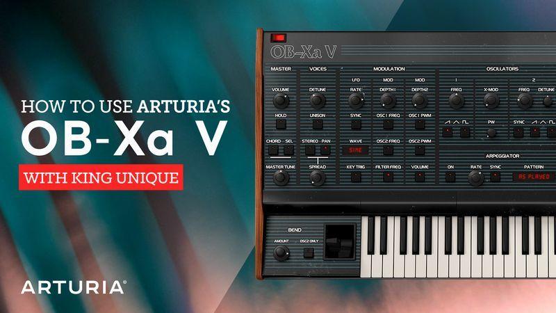Arturia OB-Xa V with King Unique