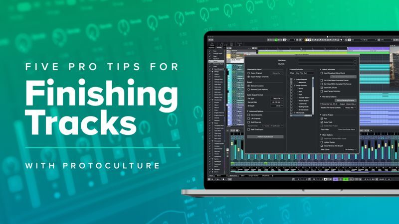 Top 5 Pro Tips to Finish Your Tracks