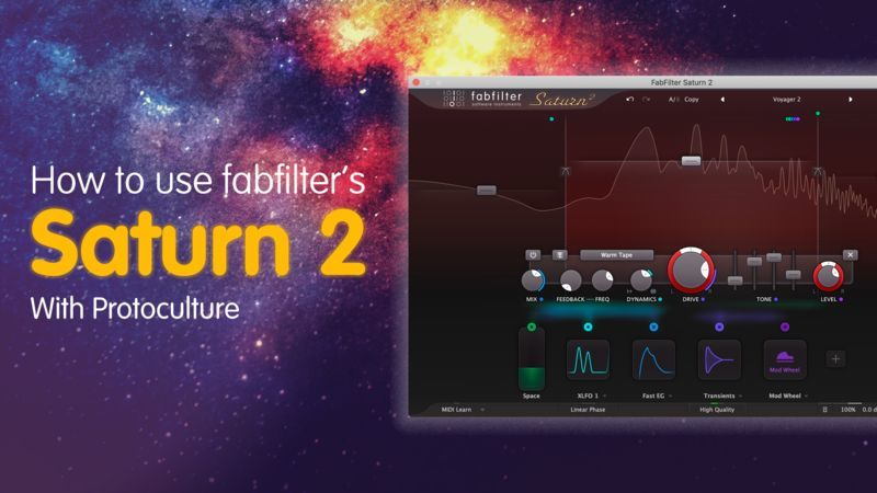 FabFilter Saturn 2 with Protoculture