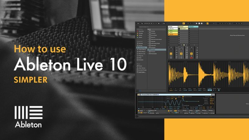 Ableton Live 10 Simpler with P-LASK