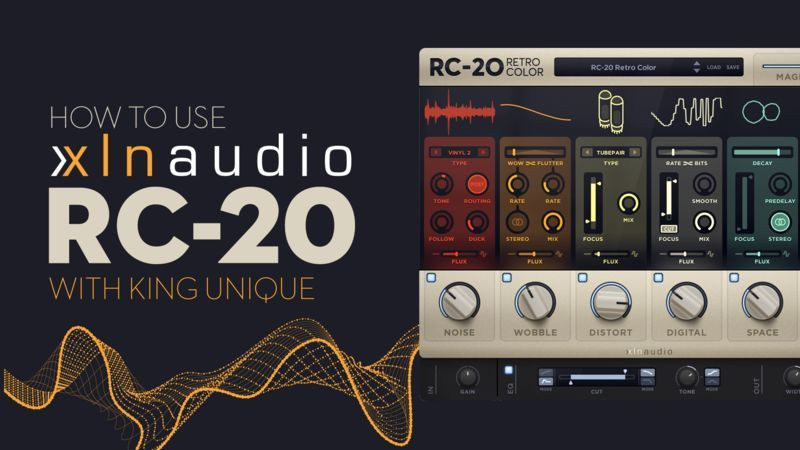 XLN Audio RC-20 Retro Color with King Unique