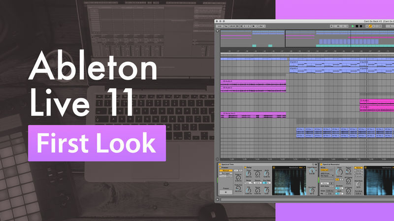Ableton Live 11 First Look with Phil Johnston