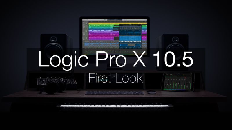 Logic Pro X 10.5 First Look with Chris Agnelli